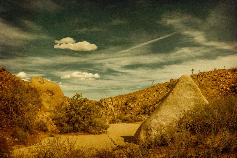 joshua tree clouds pushawalla plateau pyramid landscape fine art