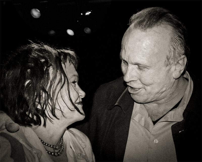 Exene Cervenka and Phil Alvin