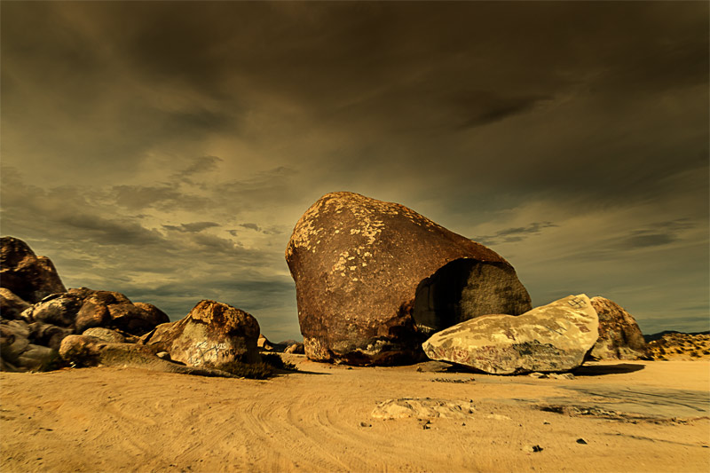 landers giant rock fine art landscape