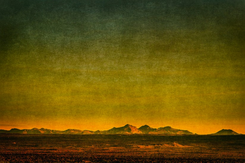 trona pinnacles rocks dusk fine art landscape sunset
